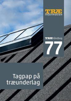 TRÆ 77 Tagpap på træunderlag
